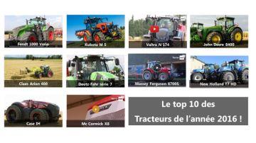Les 10 photos des tracteurs de l'année