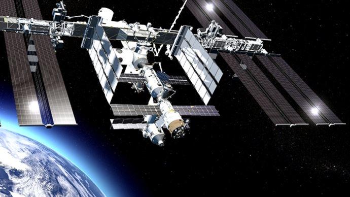Projet V3PO sur la station spatiale internationale.