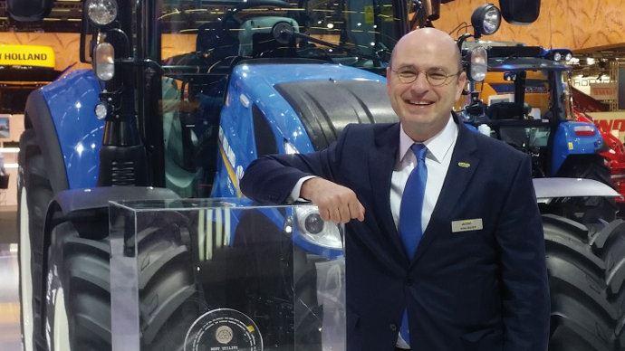 Gilles Mayer, le nouveau Patron de New Holland en France