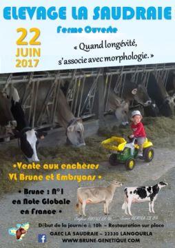 Porte ouverte et vente à l'élevage de la Saudraie (Côtes d'armor)