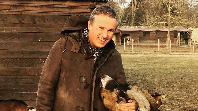 Photo issue du compte Instagram de Nicolas Dupont-Aignan
