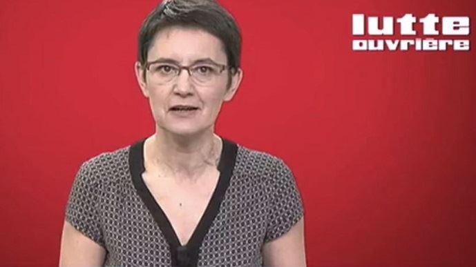 Nathalie Arthaud est candidate pour la deuxième fois à l'élection présidentielle. En 2012, elle avait récolté 0,56% des suffrages.
