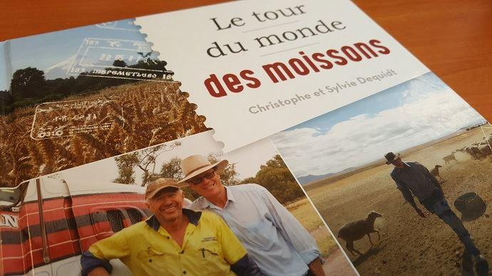 Pendant plus d'un an, Christophe Dequidt a parcouru 17 pays à la rencontre d'agriculteurs, pour mieux se rendre compte du potentiel agricole mondial, et de la ncessité de soutenir un secteur éconmiqueindispensable à l'humanité.