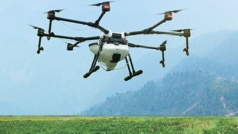 Drone de pulvérisation