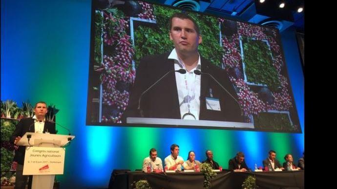 Congrès Jeunes Agriculteurs à Dunkerque