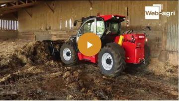 Manitou NewAg ou la manutention agricole à l'heure du numérique