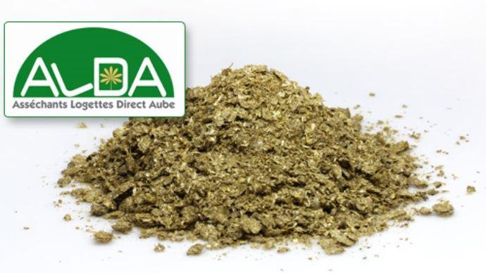 L'asséchant végétal Alda en farine de paille