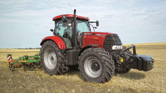cote agricole d 39 occasion des tracteurs case ih puma 160 cvx. Black Bedroom Furniture Sets. Home Design Ideas