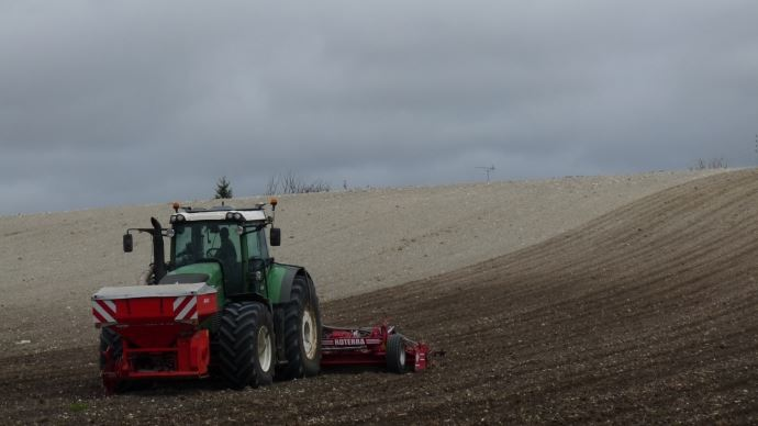 Préparation sol semis blé