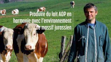 Destémoignages d'une production de lait en accord avec l'environnement