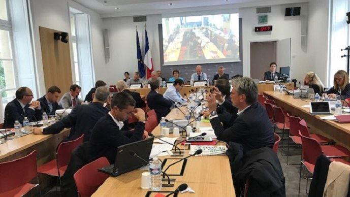 Les représentants de la FNSEA ont été auditionnés par les parlementaires sur les Etats généraux de l'alimentation, mercredi 13 septembre 2017.