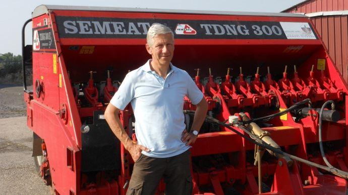Yves Gosselin en agriculture de conservation