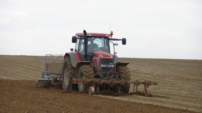 Préparation du sol semis blé