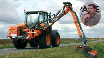 Pascal Couturier: «Je produis du biogaz avec l'herbe du bord des routes»
