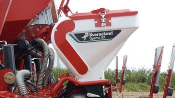 Kverneland Optima SX: un semis de précision jusqu'à 18 km/h