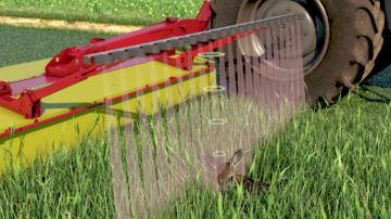 Pöttinger Sensosafe: préserver la faune et le fourrage