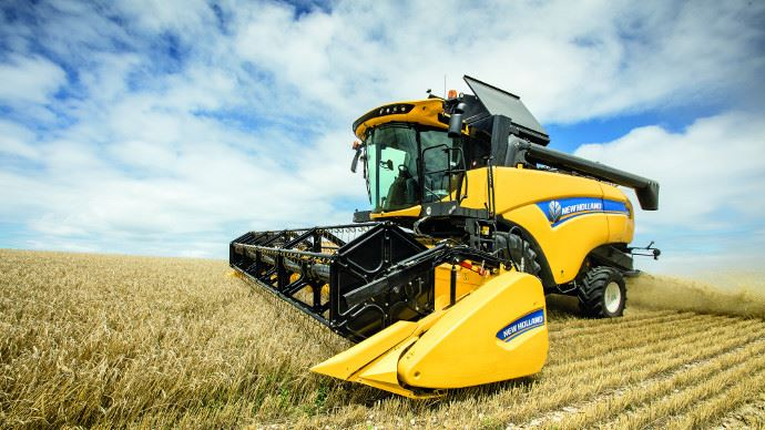 New Holland CX5 et CX6