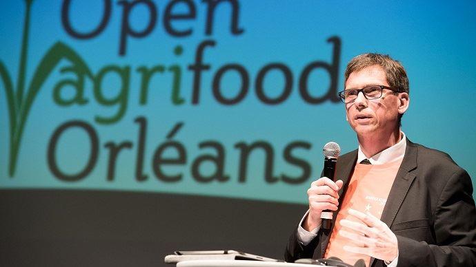 Emmanuel Vasseneix, président de LSDH, copréside l'événement Open Agrifood, qui se tient les 15 et 16 novembre 2017 à Orléans sur le thème de la création de valeurs.