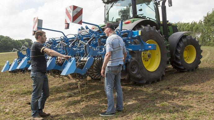 Parmi les nouveautés apportées par la loi Travail, la mise en place, pour les agriculteurs, d'un compte personnel d'activité.