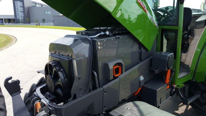 C'est la batterie sous le capot qui est le facteur limitant pour des machines plus puissantes