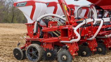 Kverneland Optima HD II pour le semis en quinconce
