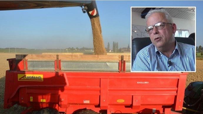 Renaud de Kerpoisson, président d'Offre et demande agricole, reste optimiste sur l'évolution des prix des céréales pour les prochains mois.