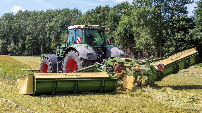 Krone EasyCut B950 Collect