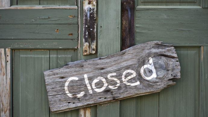 Portes closed