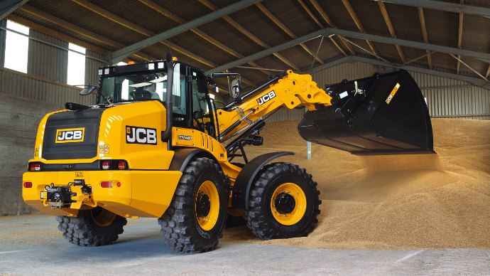 JCB TM 420, le plus gros des modèles de télescopique articulé du fabricant britanique