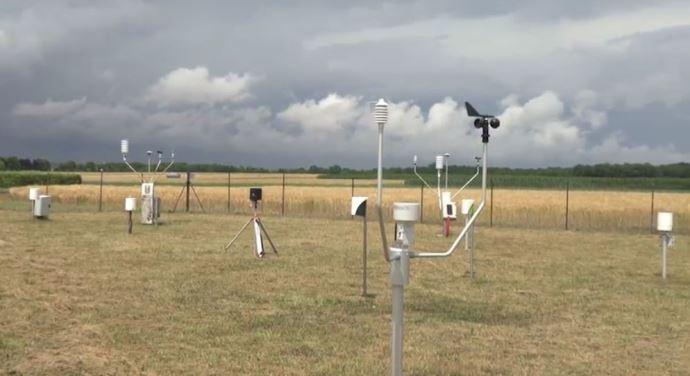 L'actu d'Arvalis Des stationsmétéo connectées en test sur les Digifermes