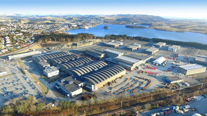Usine Kverneland de Klepp en Norvège