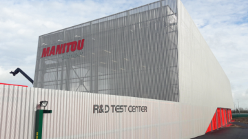 Manitou inaugure son R&D Test Center