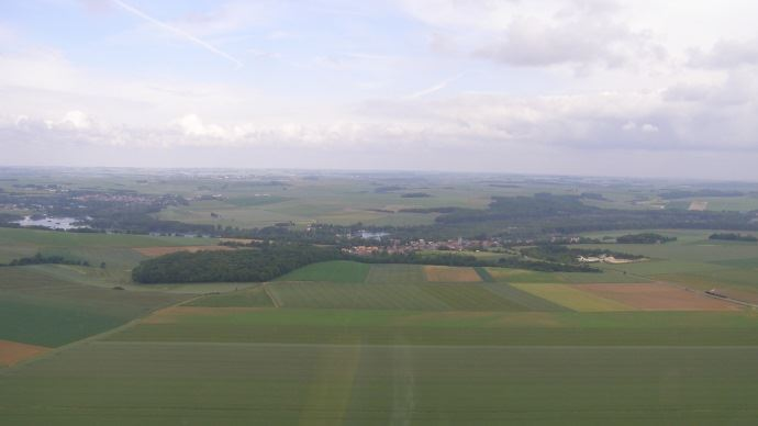 terres agricoles vues d avion