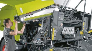 Coatex, le film conçu pour les presses Claas Rollant 400 Uniwrap