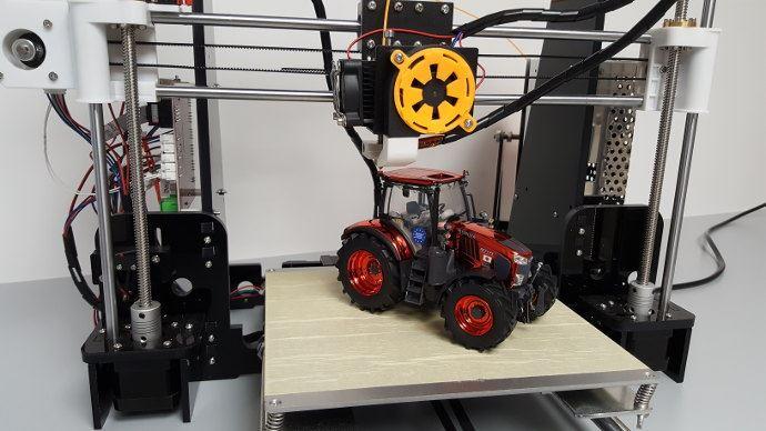L'impression 3D en machinisme agricole n'est plus une fiction, enfin presque