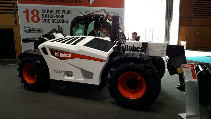 Bobcat TL 3070, déjà aperçu à l'Agritechnica.