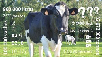 La minute «culturegénérale» de la filière laitière en quelques chiffres