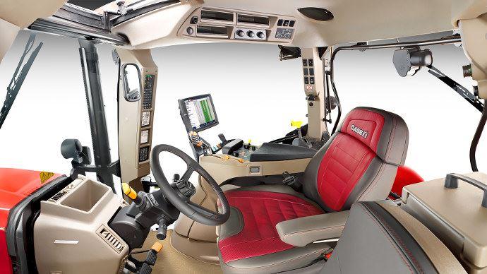Un intérieur de cabine prestige pour ce Case IH Maxxum 1455 CVX