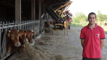 Fabrice, éleveur:  «Le portage foncier a soulagé les premières années»