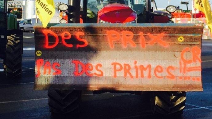 Une majorité écrasante d'agriculteurs n'espère rien de positif pour les prix agricoles et leur revenu.