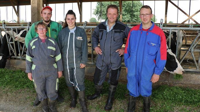 Le Gaec Gardanes: une exploitation d'élevage familiale