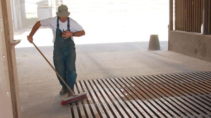 Nettoyage des installations de stockage