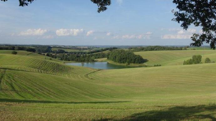 L'EARL Astarac comprend 220ha de terres vallonnées, typiques du Gers.
