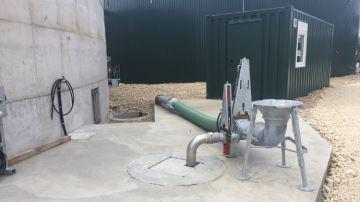 Pichon propose une vannetélécommandée pour une station de pompage propre