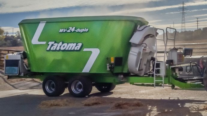 Tatoma Hydroshift, des moteurs hydrauliques pilotées pour faire varier la vitesse e mélange en continue