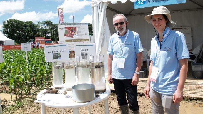 Alain Bouthier et Pascale Métais (Arvalis-Institut du végétal)