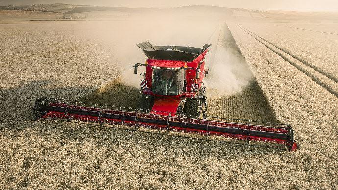 La récolte automatique avec la nouvelle Case-IH Axial Flow 9250