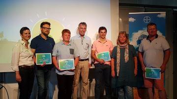 Cinq idées innovantes d'agriculteurs récompensées