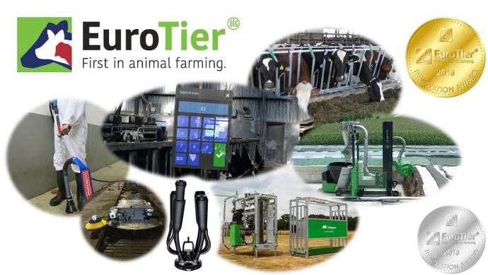 EuroTier Innovation Award, Tous les résultats de l'innovation en élevage outre-Rhin pour 2018