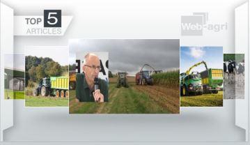 Ensilages etsécheresse occupent le devant de l'actualité sur Web-agri